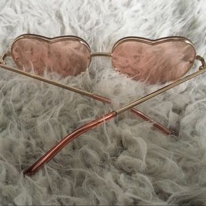 7f45418c59a4 Accessories - Heart shaped Sunglasses